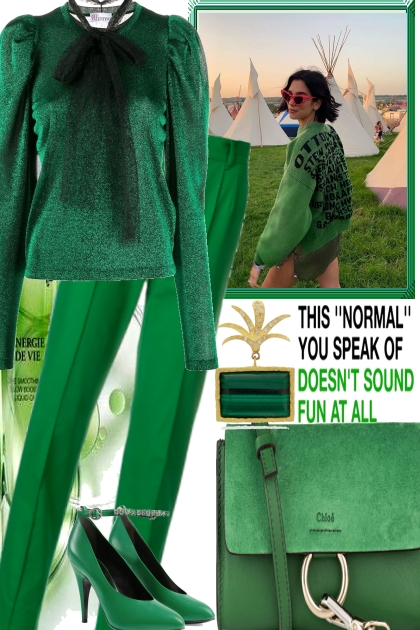 ONLY ONE COLOR- Fashion set