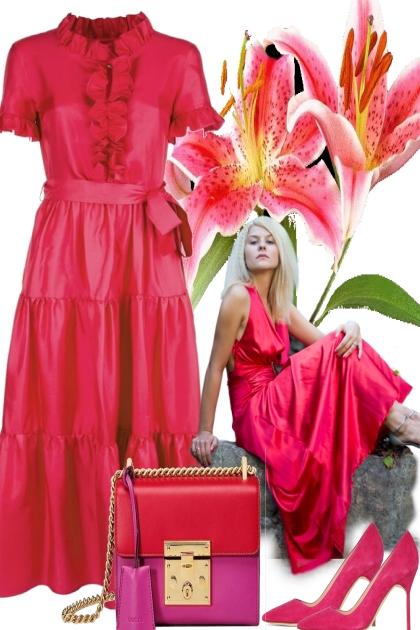 pink spring-