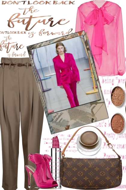 SPRING WITH PINK AND BROWN