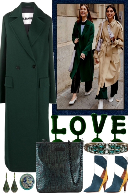 LOVE WITH GREEN