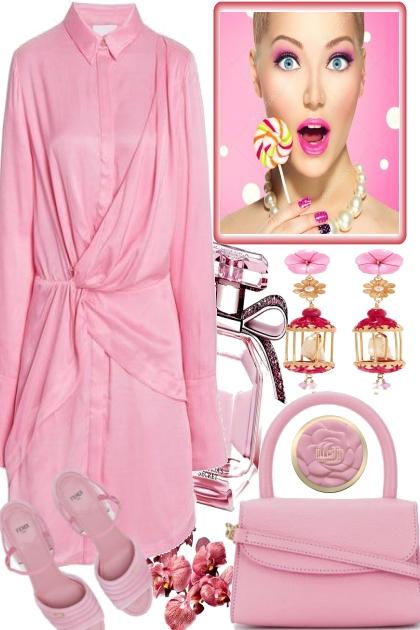 IN LOVE WITH PINK- Combinaciónde moda