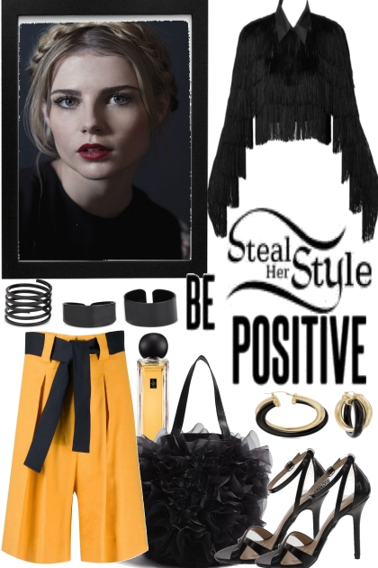 STEAL THE STYLE, BE POSITIVE