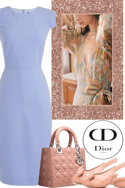 PASTEL WITH DIOR BAG
