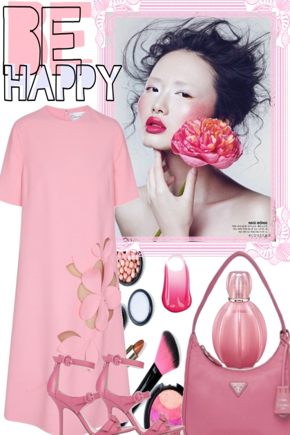 BE HAPPY IN  PINK