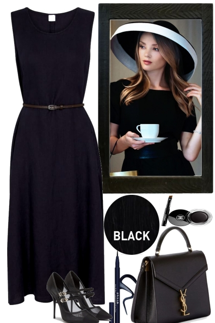 -TIMELESS IN BLACK