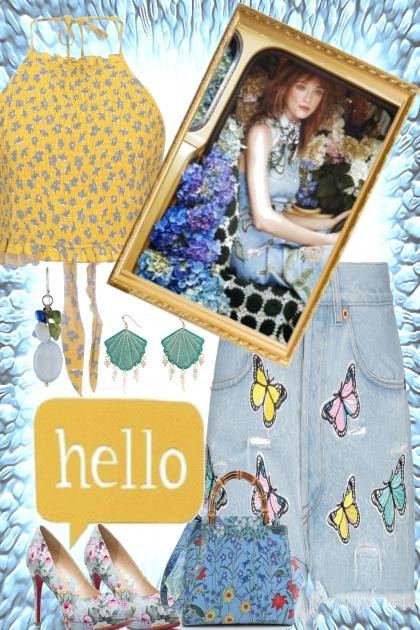 HELLO BUTTERFLIES- Fashion set