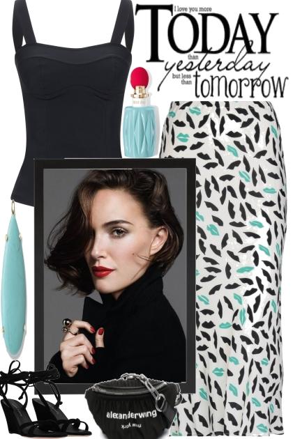 TODAY, YESTERDAY, TOMORROW- Fashion set