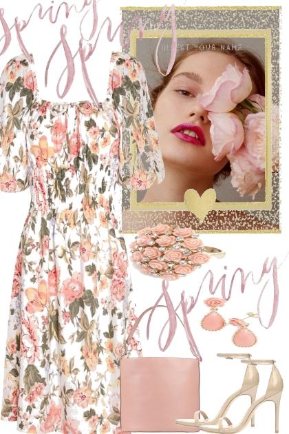 --spring flowers--- Fashion set
