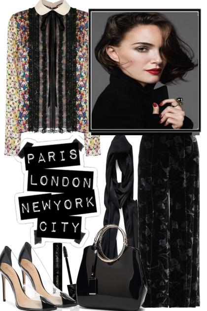 PARIS, LONDON, NYC