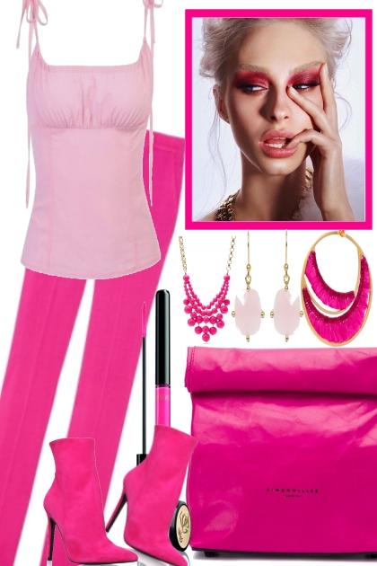 PINK, WHY NOT- Fashion set