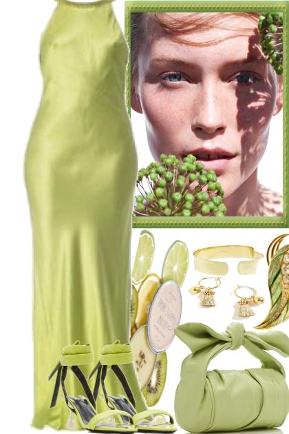 BE ELEGANT, GREEN IS A GOOD CHOICE- Fashion set