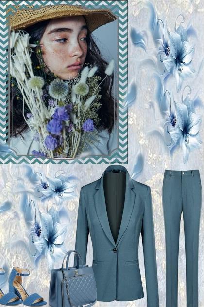 JUST AQUA COLORS- Fashion set