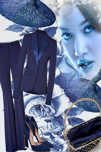 BLUE ROSES- Fashion set