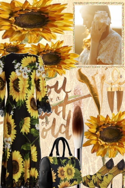 in love with sunflowers