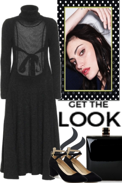 GET THE LOOK, BUT BLACK