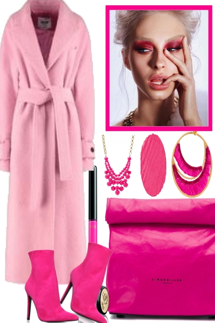 SHE GO  FOR. PINK