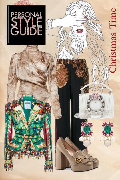 An unique Christmas- Fashion set