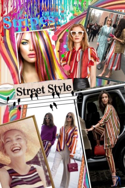 Stripes - Street Style