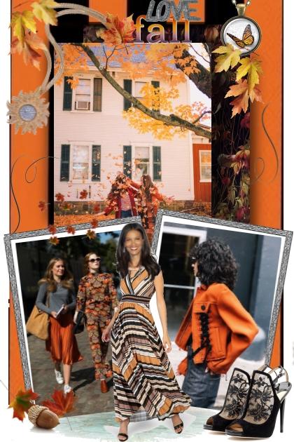 Love Fall- Fashion set