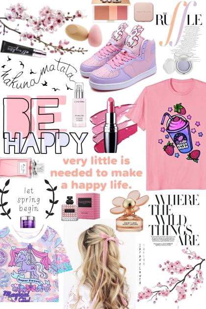 Happy Blush- Fashion set