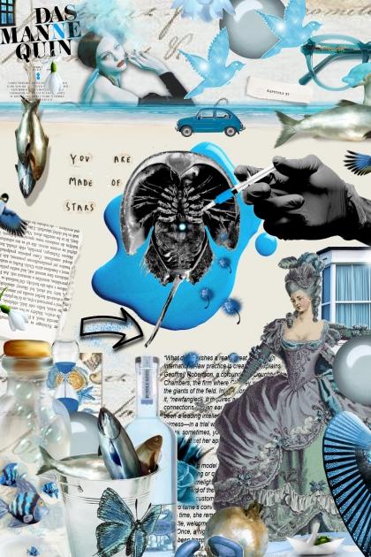 fantasie in blu