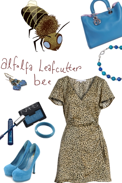 alfalfa leafcutter bee- Kreacja