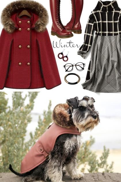 caped dog