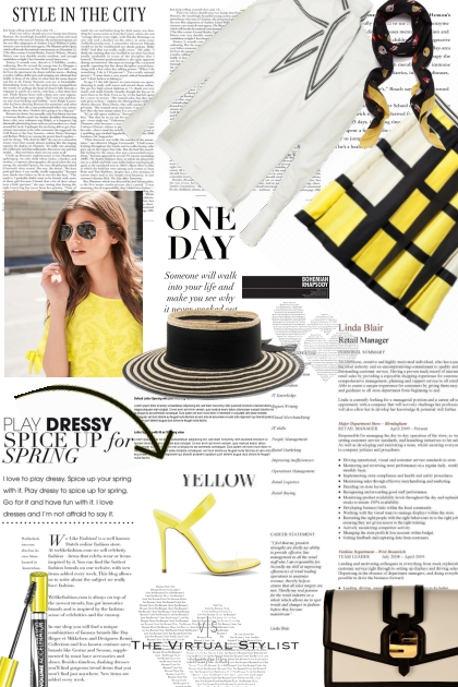 Statement pieces in yellow