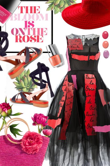 The Bloom is On the Rose- Fashion set