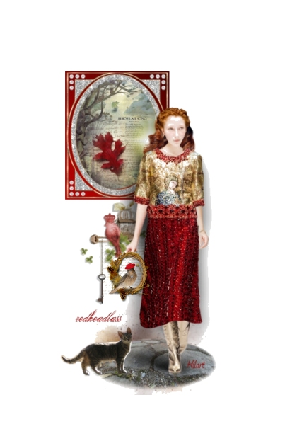 Doll for Redheadlass- Fashion set