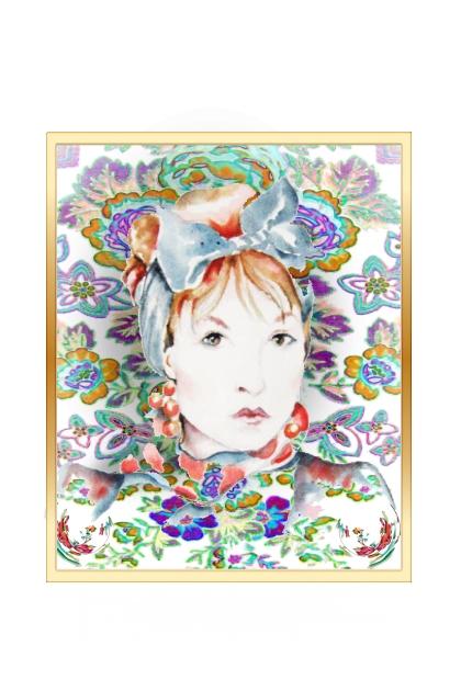 Portrait of Marsha- Fashion set