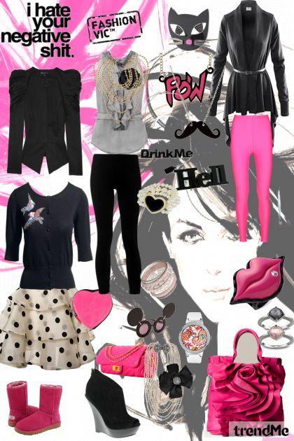 fashion victim- Fashion set