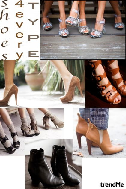 shoes4 every type