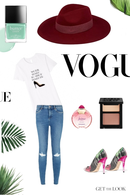 Vogue time, baby!