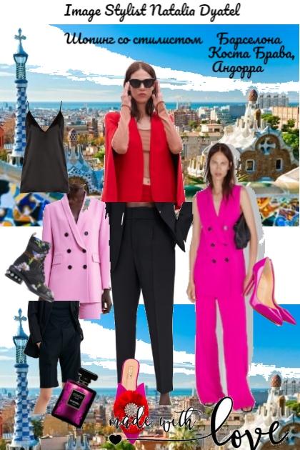 шопинг со стилистом в Барселоне