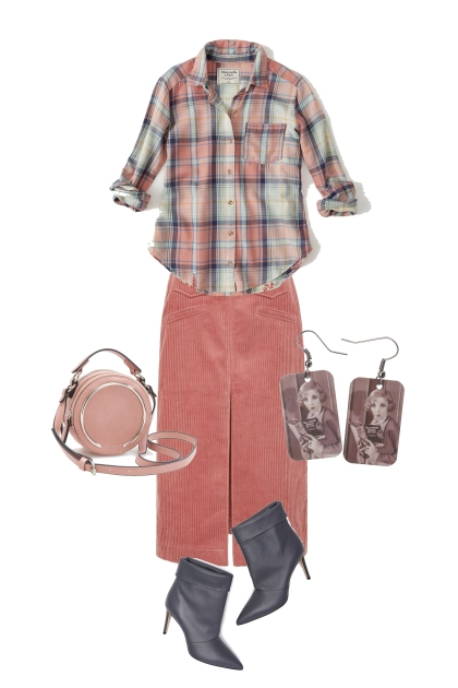 velvet skirt1