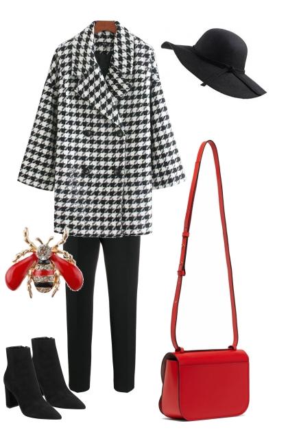red bag- Fashion set