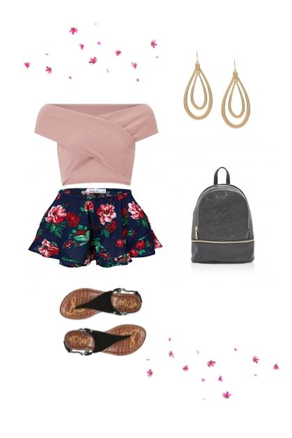 summer shorts- Fashion set