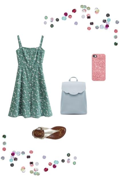 Spring pastelles - Fashion set