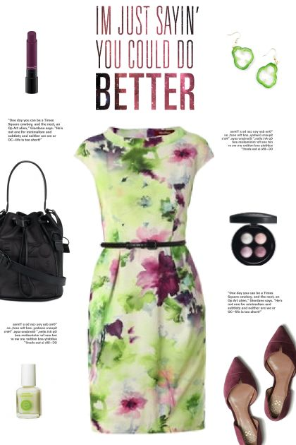 How to wear a Belted Dress!