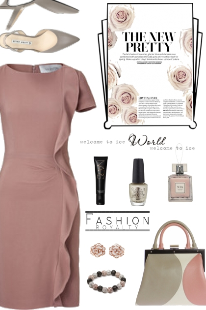 How to wear a Ruffled Dress!