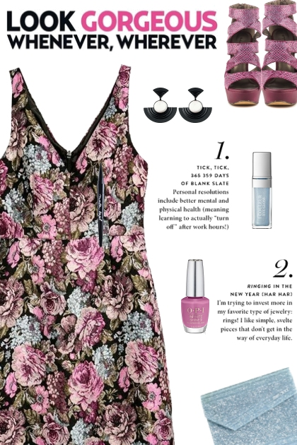 How to wear a Jacquard Dress!