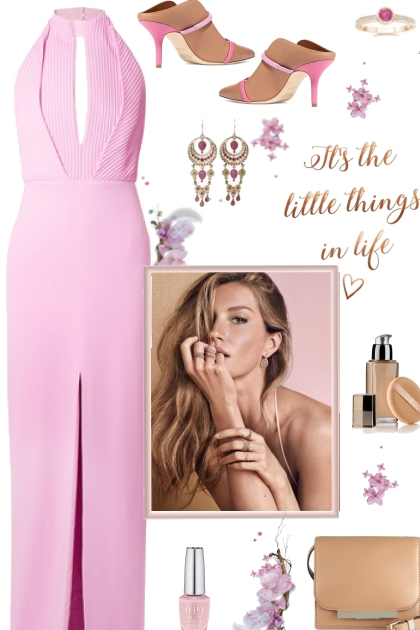 How to wear a Halter Neck Gown!