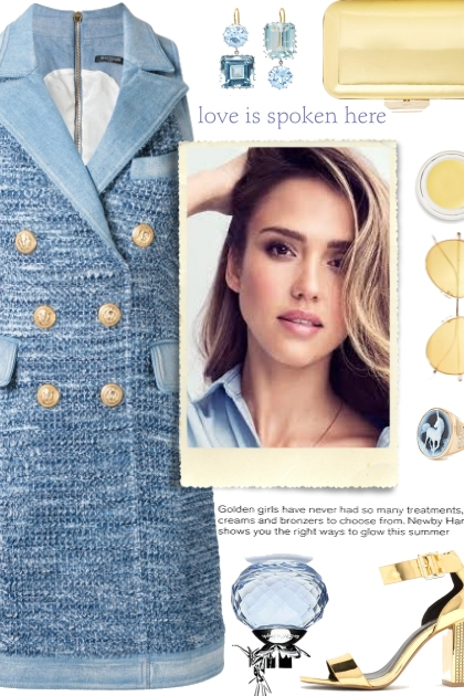 How to wear a Blazer Dress!