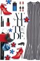 How to wear a Striped Midi Dress!