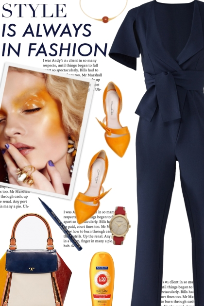 How to wear a V-Neck Jumpsuit!