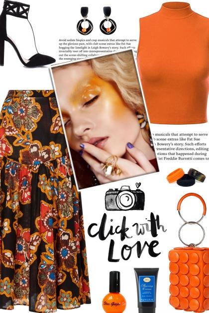 How to wear a Printed Poplin Skirt!