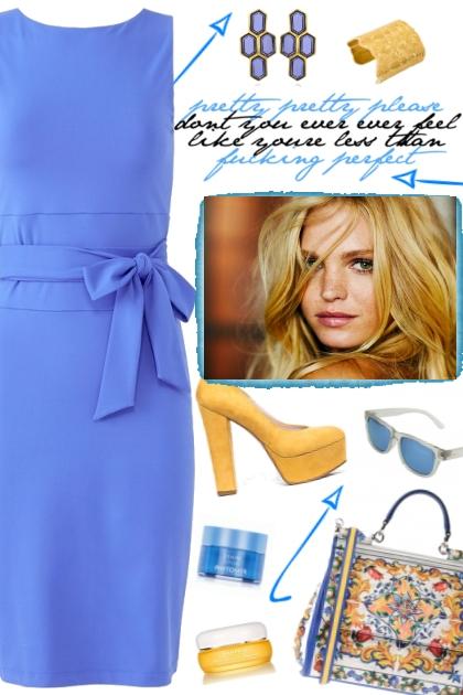 How to wear a Tie Waist Sheath Dress!