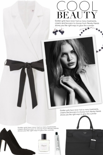 How to wear a Tuxedo Playsuit!