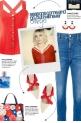 How to wear a Crisscross Peplum Top!